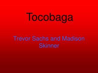 Trevor Sachs and Madison Skinner