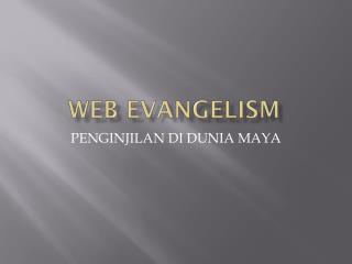 Web Evangelism