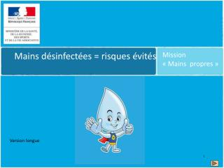 Mission  «Mains  propres»