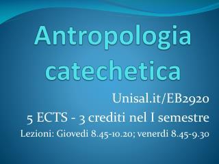 Antropologia catechetica