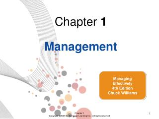Chapter  1 Management