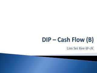 DIP – Cash Flow (B)