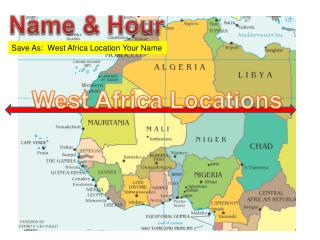West Africa Locations