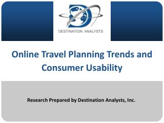 Research Prepared by Destination Analysts, Inc.
