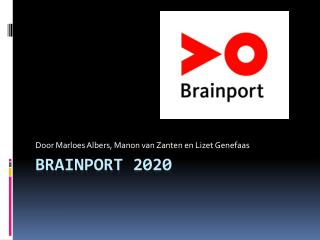 Brainport  2020