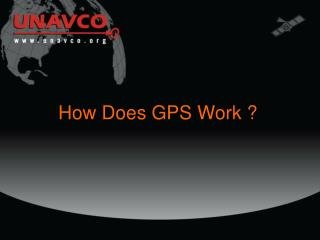 How Does GPS Work ?