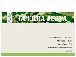 Alejandro Sergio  Vicent  Sierra María Sabina Rubio Álvaro Gómez Chía Pablo Manuel Macías contador