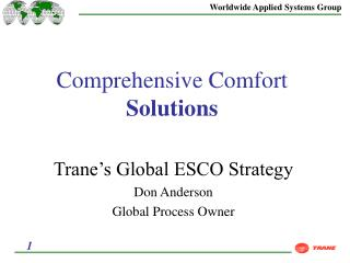 Comprehensive Comfort  Solutions