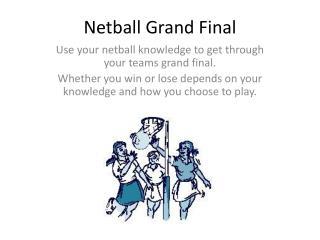 Netball Grand Final