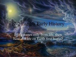 17-2 Earth's Early History