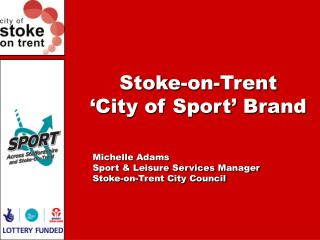 Stoke-on-Trent 'City of Sport' Brand