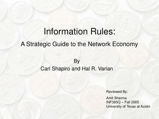 Information Rules: A Strategic Guide to the Network Economy