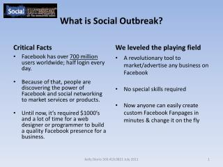 What is Social Outbreak?