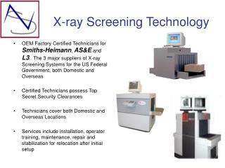 X-ray Screening Technology