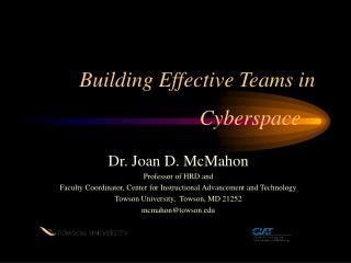 Building Effective Teams in