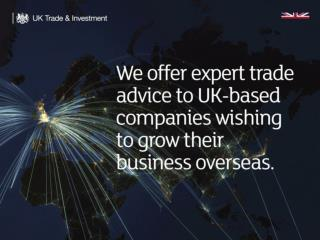 Growing your business in Australia: How UKTI Australia can help