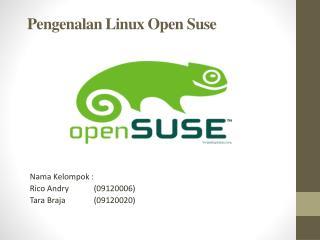 Pengenalan Linux Open Suse