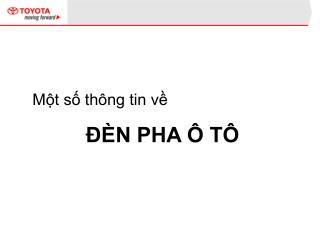 M?t s? th�ng tin v?  ?�N PHA � T�