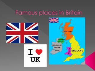 Famous places in Britain