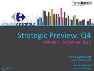 Strategic Preview: Q4