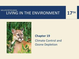 Chapter 19 Climate Control and  Ozone Depletion