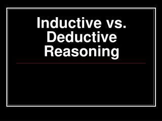 nursing and inductive reasoning Sal uses inductive reasoning to find an expression for the nth number in the sequence 6, 9, 12, 15.