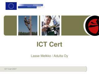 ICT Cert