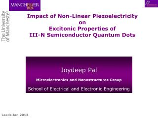 Impact of Non-Linear Piezoelectricity  on  Excitonic Properties of