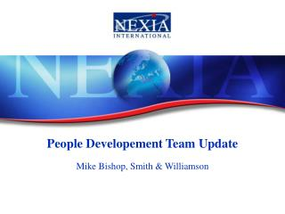 People Developement Team Update