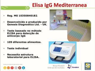 Elisa IgG Mediterranea