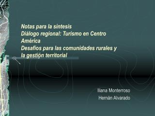 Iliana Monterroso Hernán Alvarado
