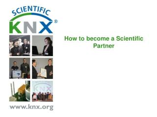 How to become  a Scientific Partner