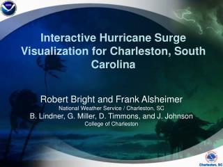 Interactive Hurricane Surge Visualization for Charleston, South Carolina