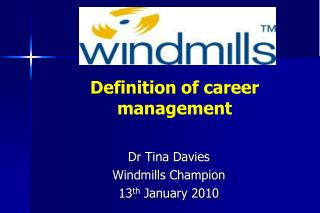 Definition of career management