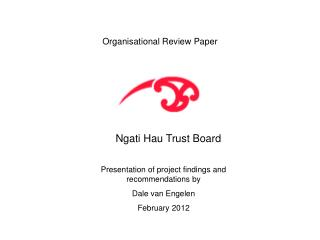 Organisational Review Paper