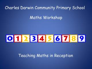 Charles Darwin Community Primary School Maths Workshop