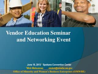 Vendor Education Seminar and Networking Event