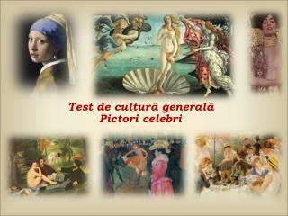 Test de  culturã g e n e ralã