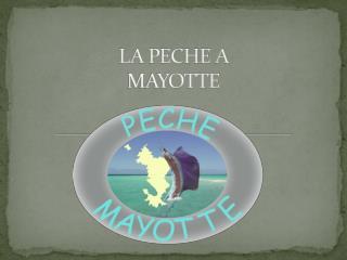 LA PECHE A MAYOTTE