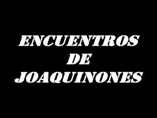 EncuentroS DE JOAQUINONES