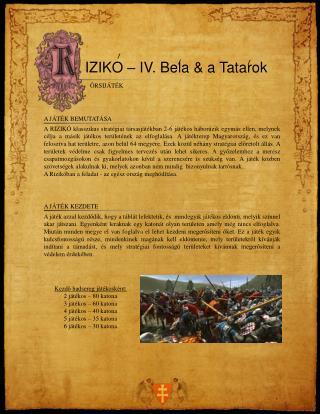 IZIKO – IV. Bela & a Tatarok