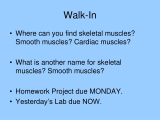Skeletal System:  Did you know