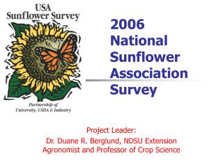 2006 National Sunflower Association Survey