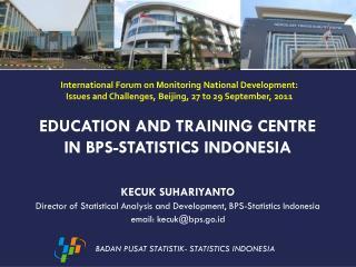 BADAN PUSAT STATISTIK- STATISTICS INDONESIA