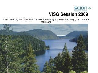 VISG Session 2009