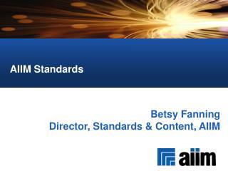 AIIM Standards