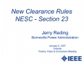 New Clearance Rules NESC - Section 23