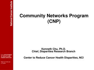 Community Networks Program (CNP)