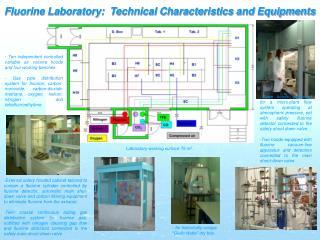 Fluorine Laboratory:  Technical Characteristics and Equipments