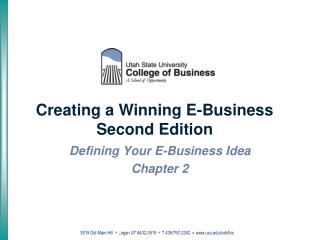 Creating a Winning E-Business Second Edition